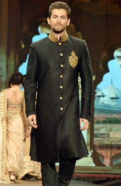 Basic and Simple long Sherwani 011220153