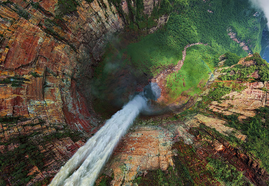 Churun-meru (Dragon) Waterfall, Venezuela
