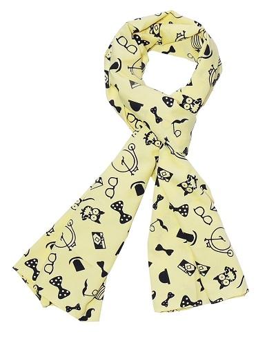 Unique print scarf