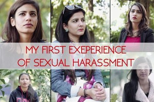 my first sexual harrasement