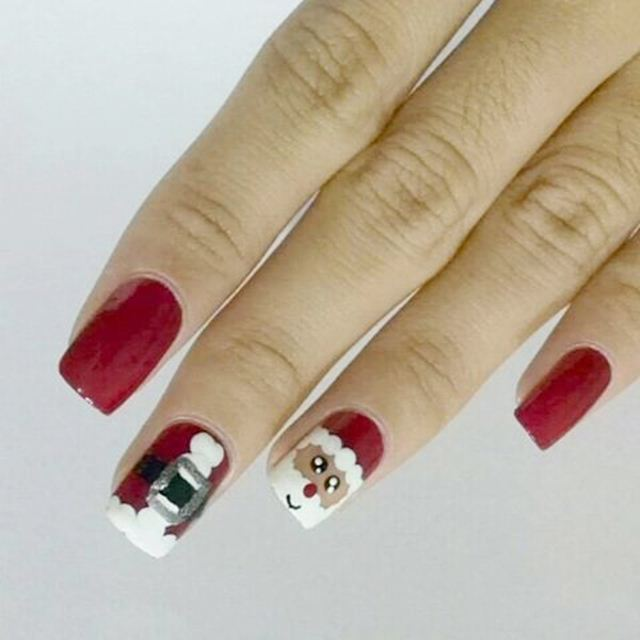 nail art designs for christmas 2112201504