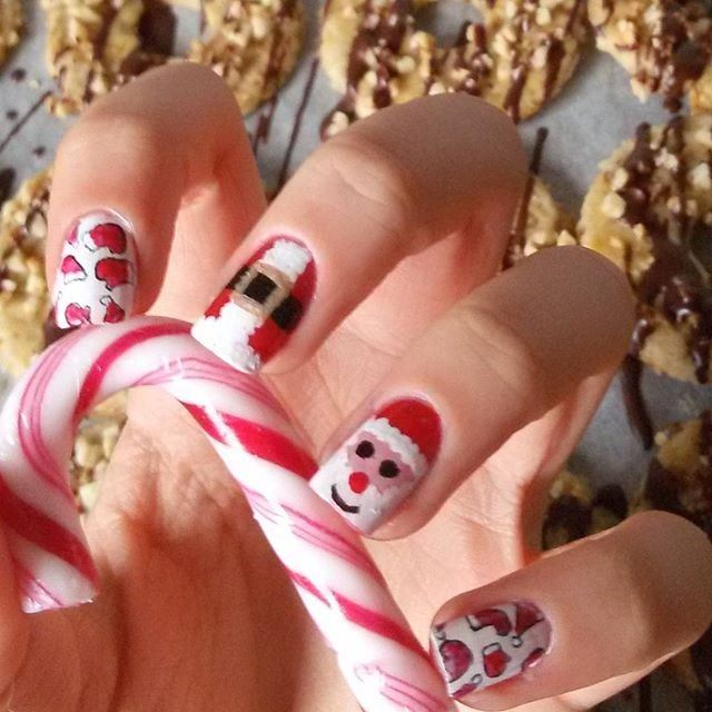 nail art design for christmas 2112201515