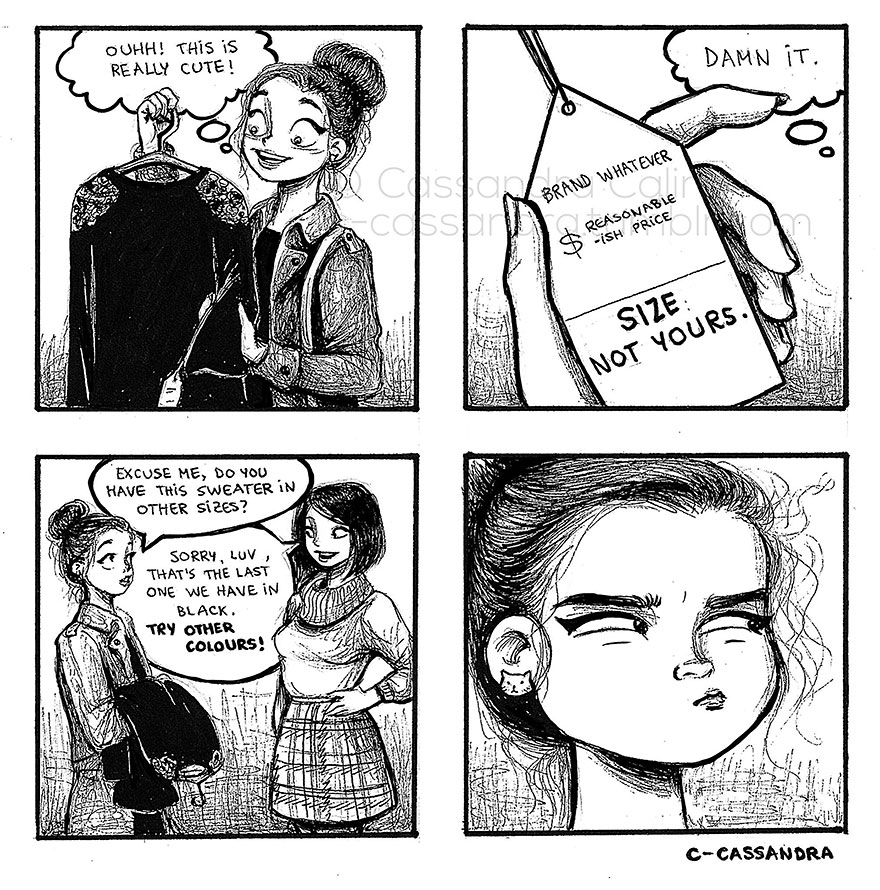 women problems Comics Cassandra Calin 7