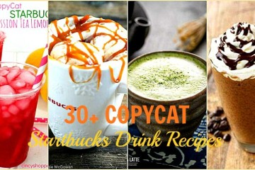 30 Copycat Starbucks Drink Recipes