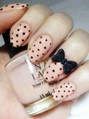 50 Different Polka dots Nail Art Ideas That Anyone Can DIY