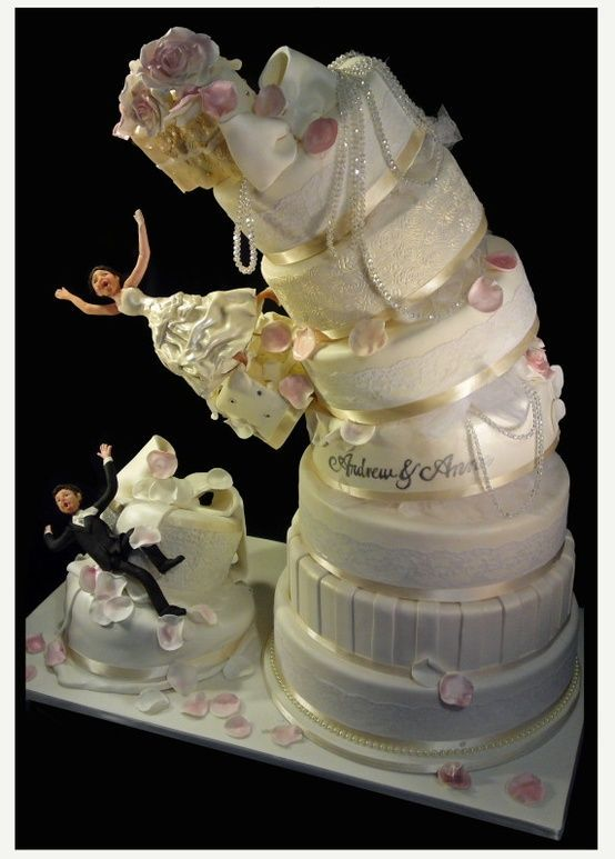 funny wedding cake writing 25 interestingly unique wedding cake ideas for your big day 14611