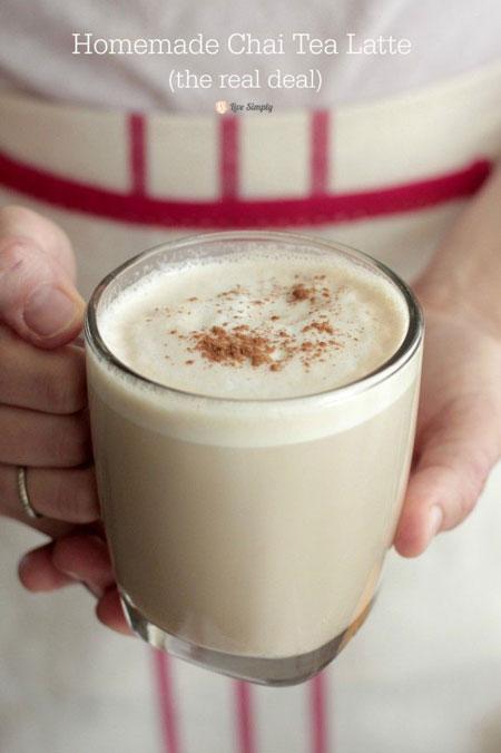 How To Make Starbucks Chai Tea Latte At Home