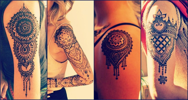 Mehndi Patterns For Shoulder : 20 best shoulder mehndi designs for those who love to experiment