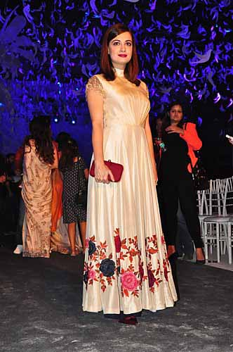 Dia Mirza at Manish Malhotra Summer Resort Collection 2016-7