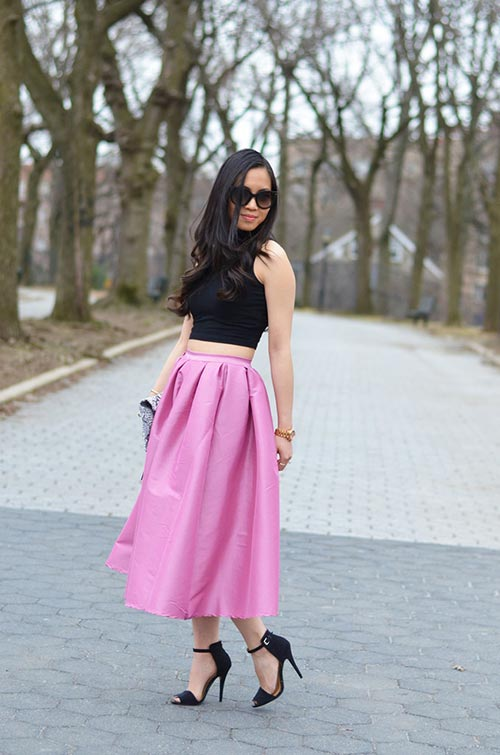 Go-for-a-bright-Midi-Skirt