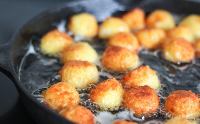 Mini Cheese Balls Fry