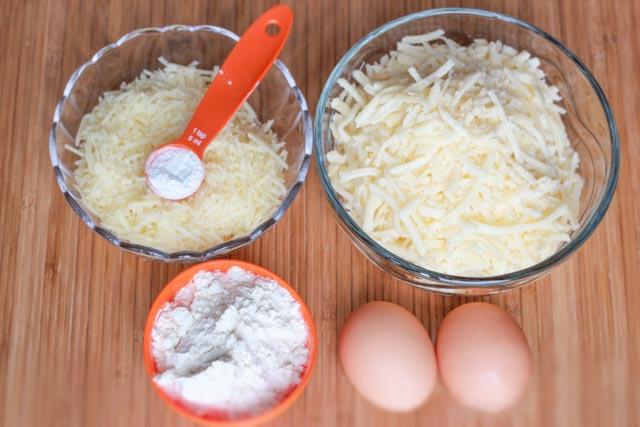 Mini Cheese Balls ingredients