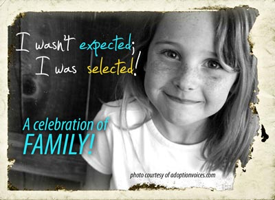 Celebrate child adoption
