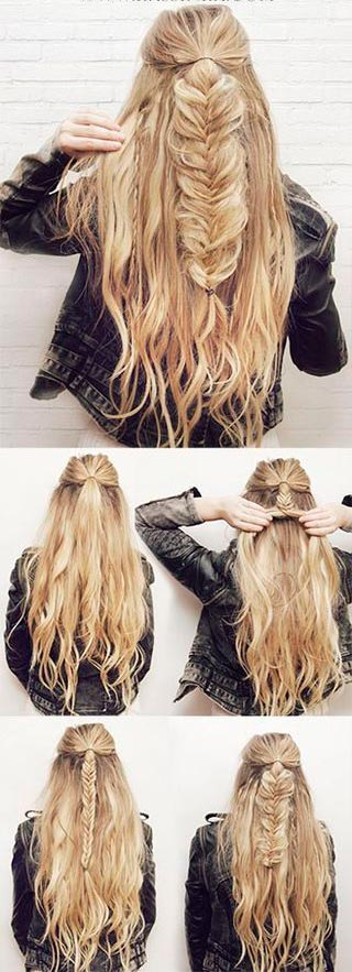 Most Flattering Half Hairstyle Tutorials Rock Any