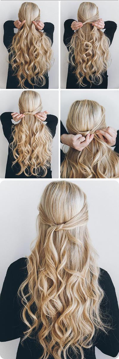 Miraculous 30 Most Flattering Half Up Hairstyle Tutorials To Rock Any Event Short Hairstyles Gunalazisus