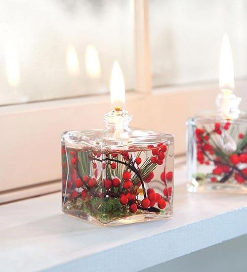 Upcycle perfume bottle candle holders