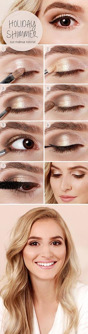 6 Most Glamorous Gold Smokey Eye Makeup Tutorials