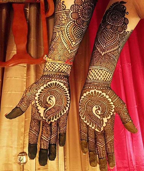 mehendi design for your wedding day