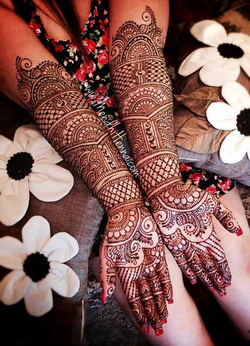 mehendi designs for your wedding day