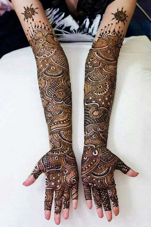Best Bridal Mehndi : Best bridal hand mehndi designs for your wedding day