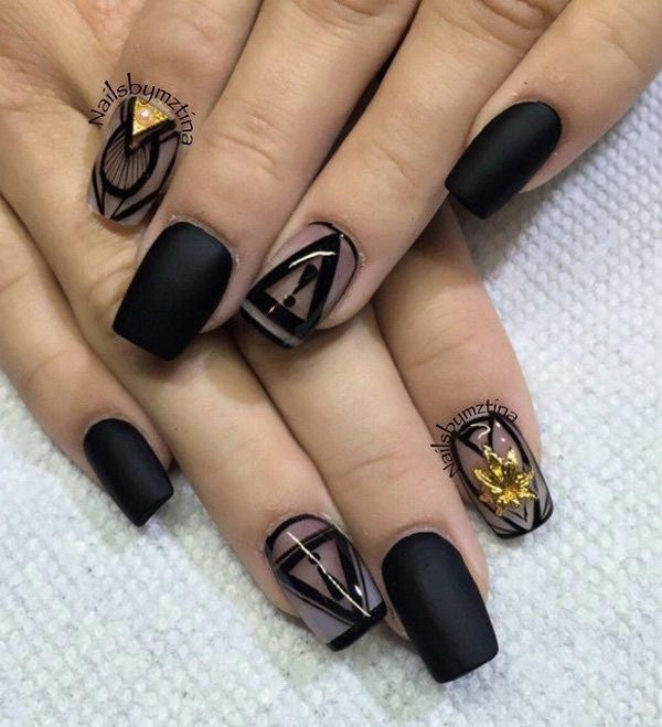 Beautiful and exclusive nail art design to awe for