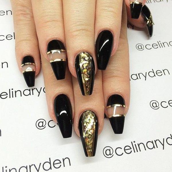 Stunning nail art design by Celina Rayden