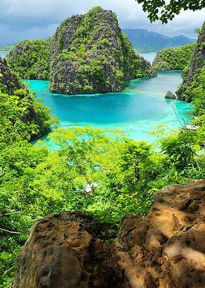 Kayangan Lake,Coron islands,-Palawan,-Philippines