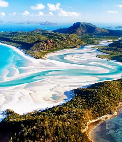 Whitsunday Islands,Australia