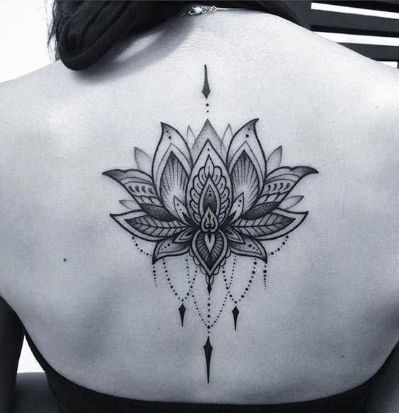 15 most alluring lotus tattoo designs to get inspired. Black Bedroom Furniture Sets. Home Design Ideas