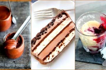 five minute desserts