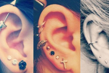 Awesome ear piercing ideas