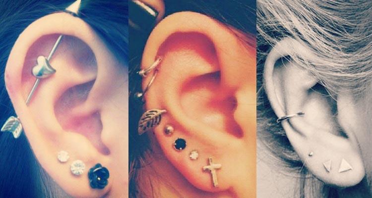 Awesome ear piercing ideas