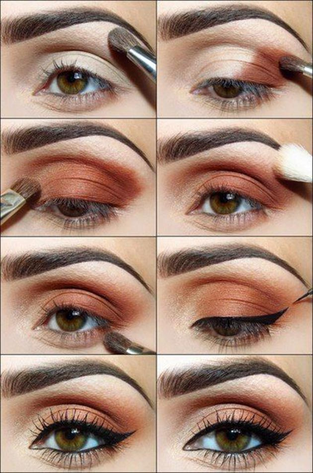 Daytime Cat Eye Tutorial