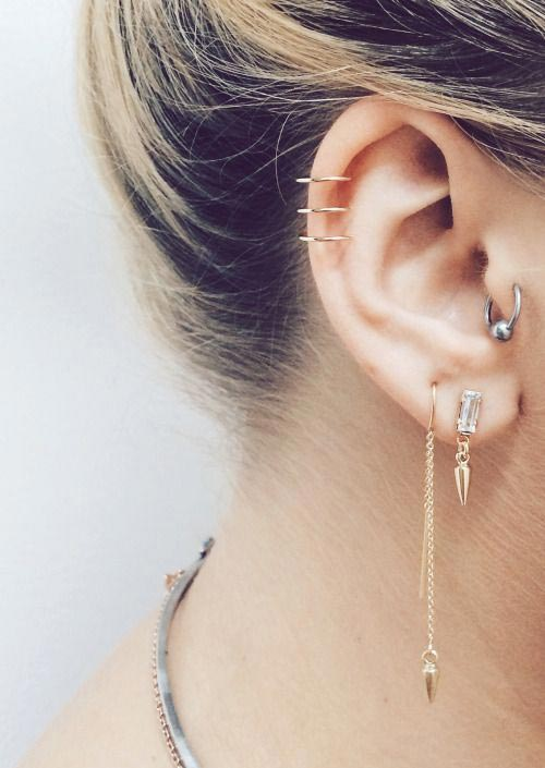 Classy helix rings and a threaded bullet