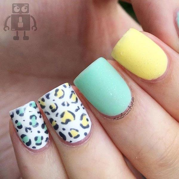 Cool Leopard Nail Art