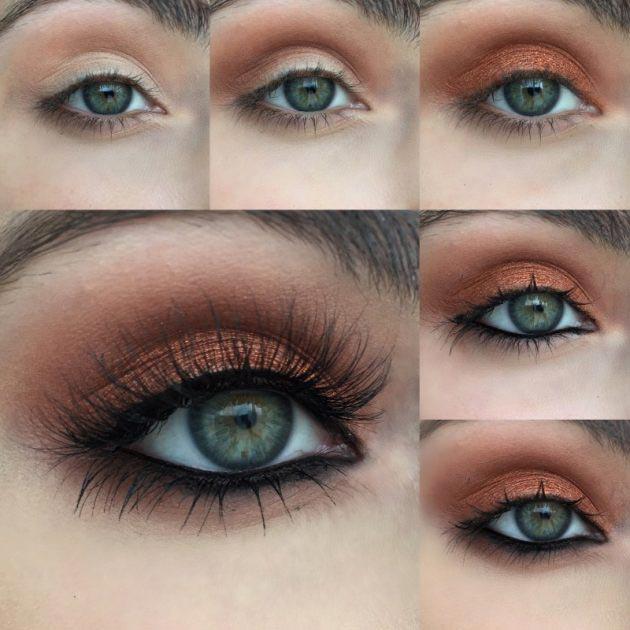 Top 10 Fall Eye Makeup Tutlorials To Try This Season