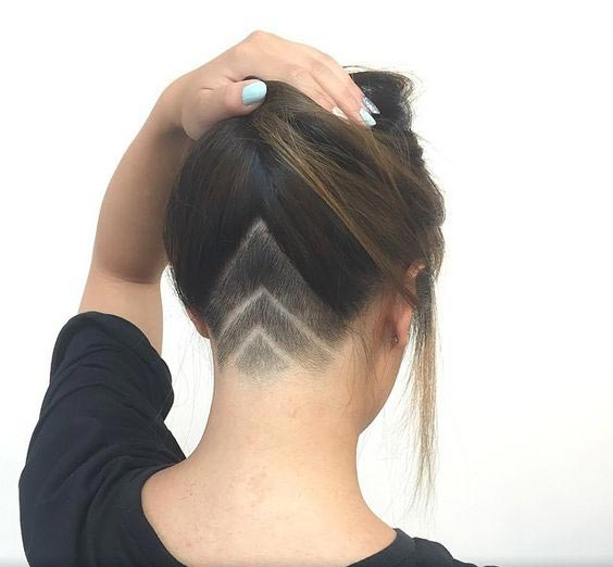 Triple Inverted V undercut