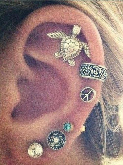 Unique ear rings