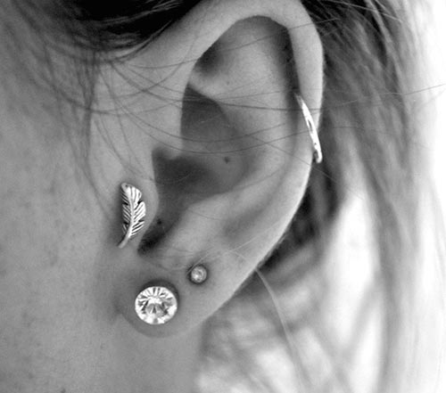 beautiful ear piercing ideas