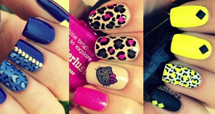 leopard-nail-art