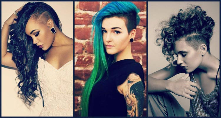 17 Edgy Undercut Women Hairstyle For Badass Women