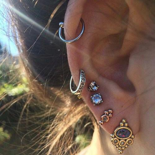 unique ear piercing ideas