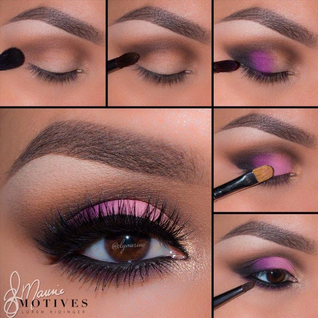 10 Eye Catching And Luxurious Black And White Bathroom Ideas: 10 Most Flattering Colorful Eye Makeup For Brown Eyes