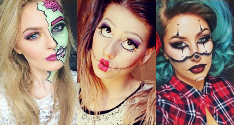18 Terrific Halloween Makeup Ideas To Step Up Your Spooky Game