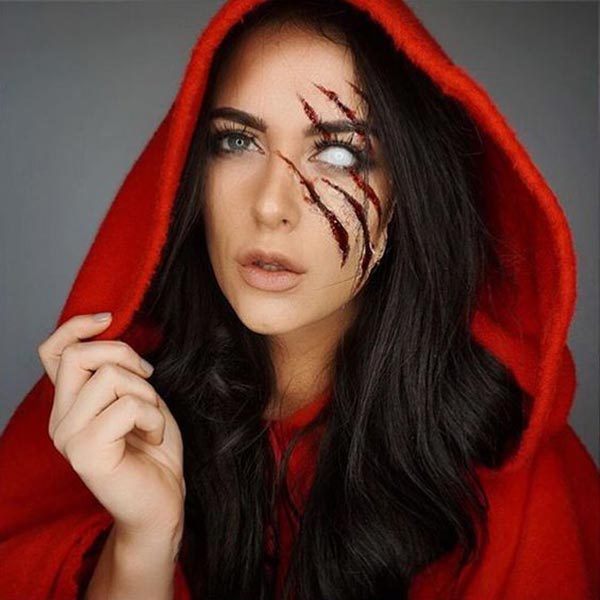 red riding hood inspired