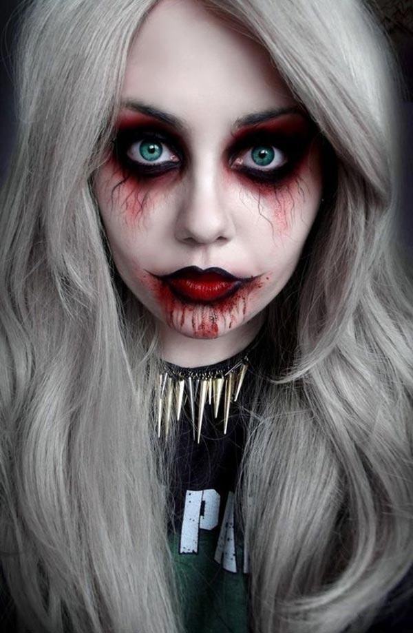 spooky ghost makeup