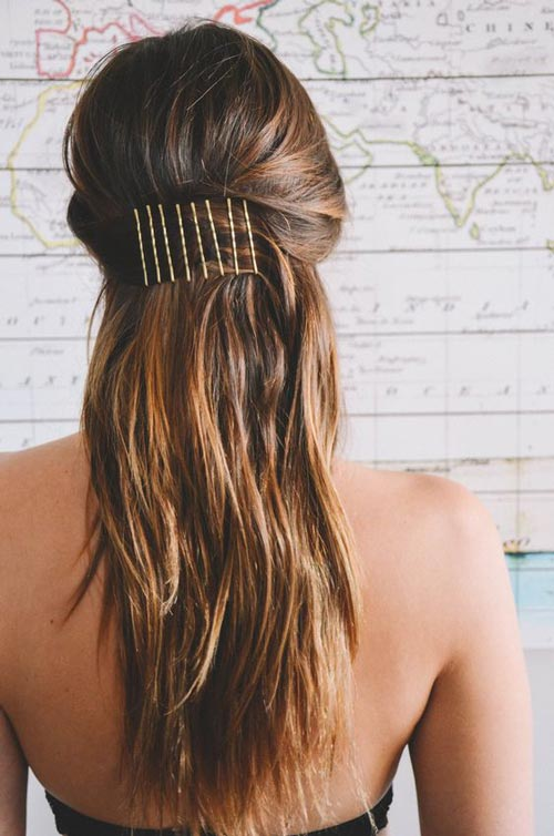 Bobby pins in series