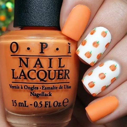 25 Pretty Thanksgiving Nail Art Designs For 2016