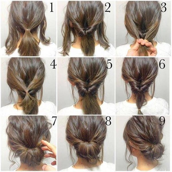 Top 10 Messy Updo Tutorials For Different Hair Lengths