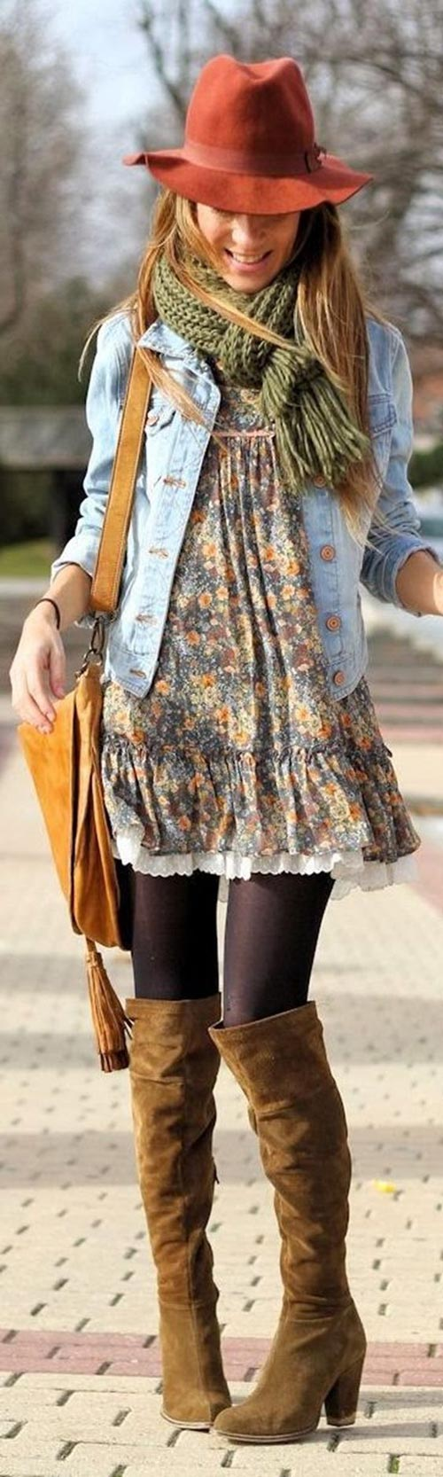 fall outfit-denim jacket